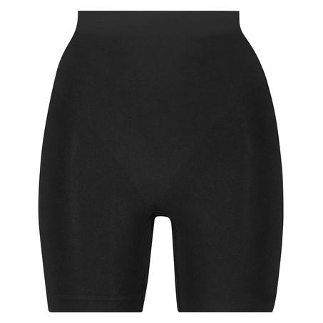 Opstrammende højtaljede shorts - Level 2, sort