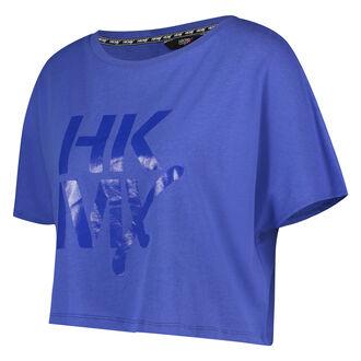 HKMX loose fit croptop, blå