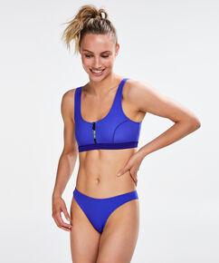 HKMX lav cheeky bikinitrusse, blå