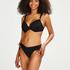 Rio bikinitrusse Crochet, sort