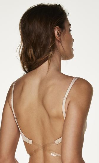 Low Back strop, Beige
