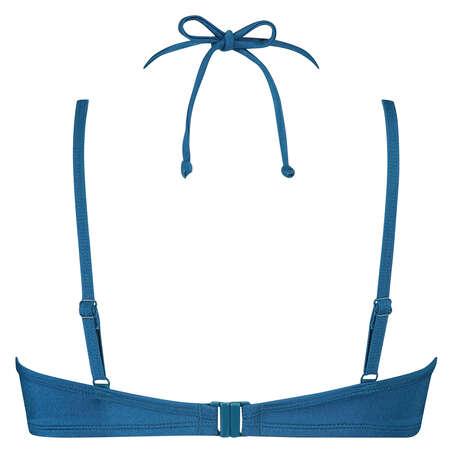 Sunset Dream formstøbt bøjle-bikinitop, blå