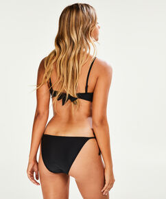 Tanga bikinitrusse Haze, sort