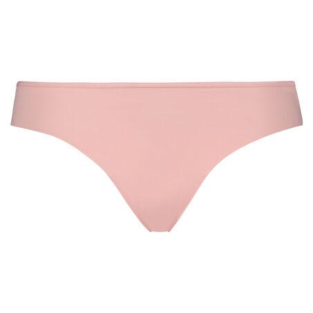 Lace Back usynlig g-streng, pink