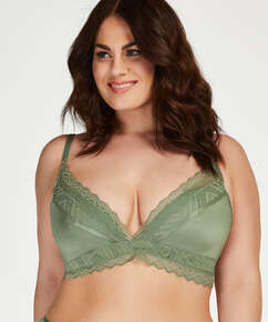 Formstøbt bh uden bøjle Rabella I AM Danielle, grøn