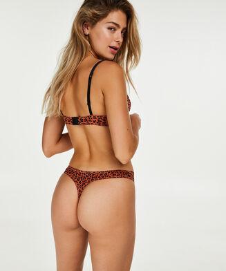 Giselle formstøbt pushup-bøjle-bh, Brown