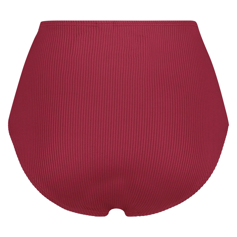 Høj bikinitrusse Golden Rings, rød, main