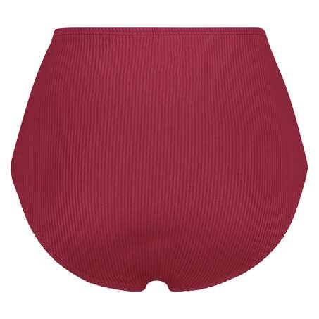 Høj bikinitrusse Golden Rings, rød