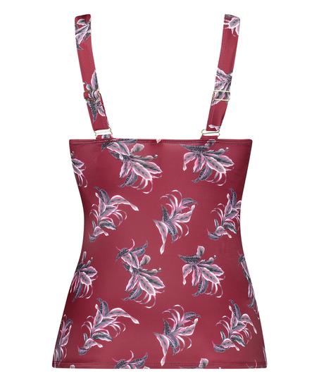Tankini Tropic Glam, rød