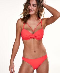 Sunset Dream formstøbt bikinitop, rød