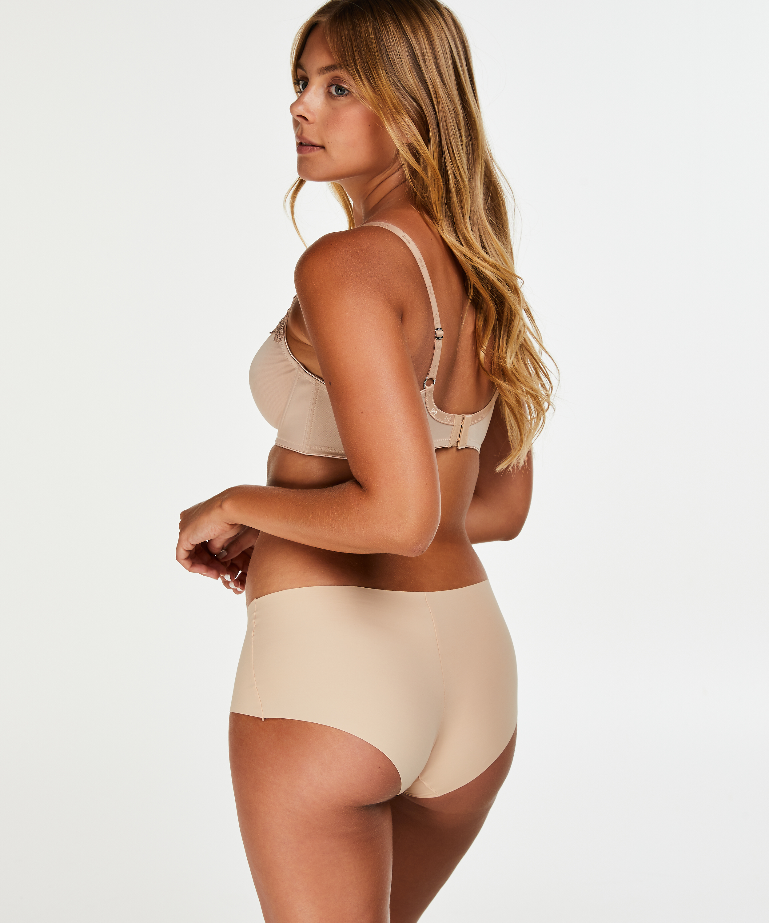 Invisible shorts, Beige, main