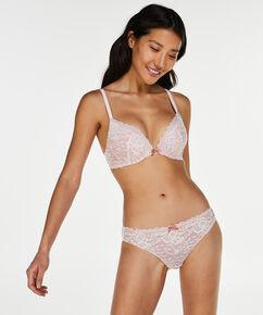 Theresa formstøbt pushup-bøjle-bh, pink