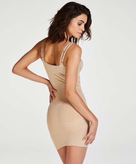 Opstrammende kjole - Level 2, Beige