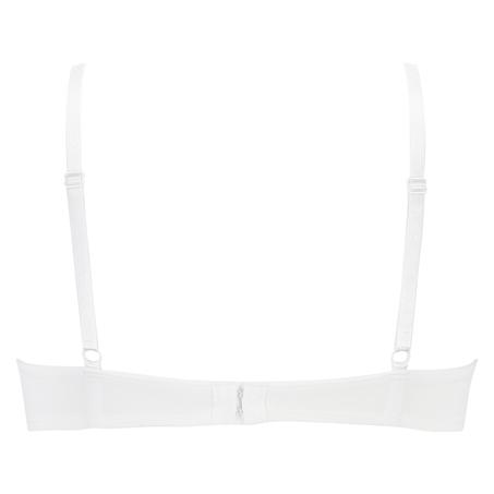 Plunge formstøbt bøjle-bh, hvid