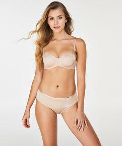 Angie Nude formstøbt stropløs bøjle-bh, tan
