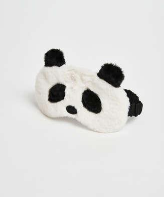 Sovemaske Cute Panda, hvid