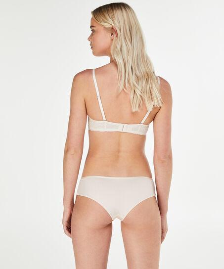 Angie Nude formstøbt stropløs bøjle-bh, pink