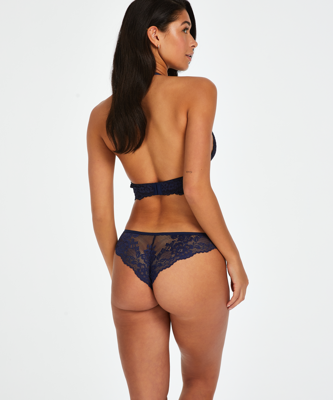 Bianca brasiliansk trusse, blå, main