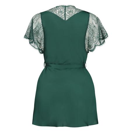 Cap Sleeve kimono, grøn