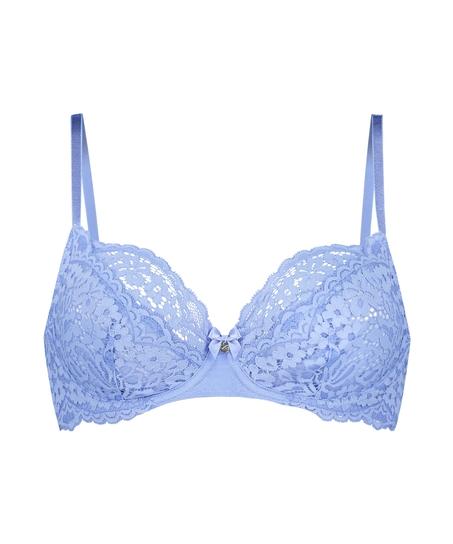 Ikke-formstøbt bøjle-bh Rose, blå