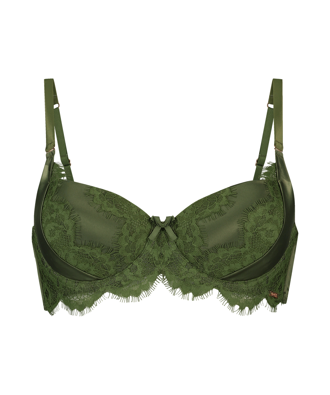 Formstøbt bøjle-bh Hannako, grøn, main