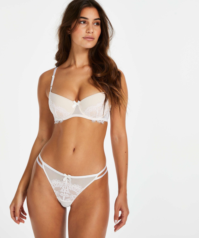 Formstøbt bøjle-bh Leyla, hvid, main