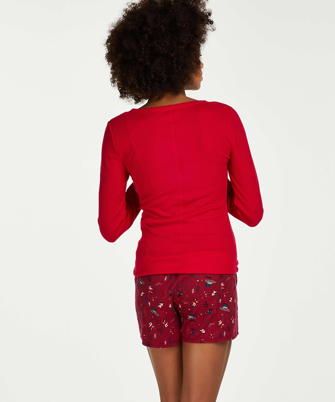 Pyjamastop med lange ærmer for 100.00DKK - Toppe og T