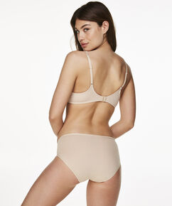 Superslip bikini bomuld, tan
