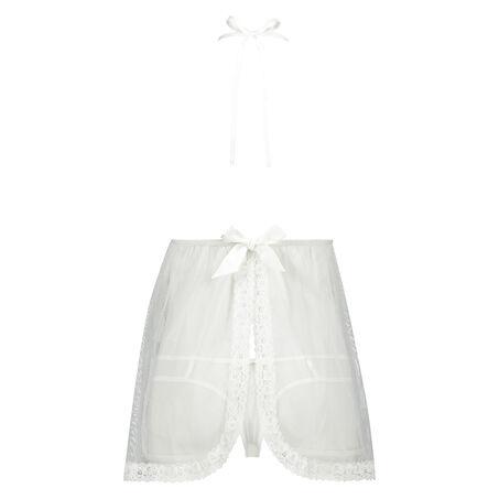 Lace babydoll, hvid