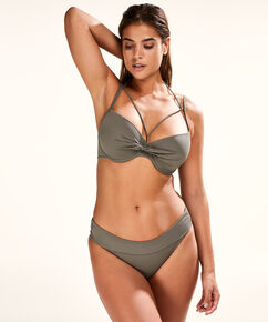 Sunset Dream formstøbt bøjle-bikinitop, grøn