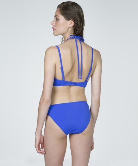 Bikinitrusse, blå