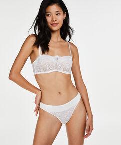 Amarya formstøbt stropløs bøjle-bh, hvid