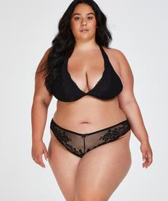Bianca brasiliansk trusse, sort