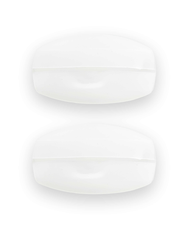Komfortabel Silikone bh-Stropper, hvid, main