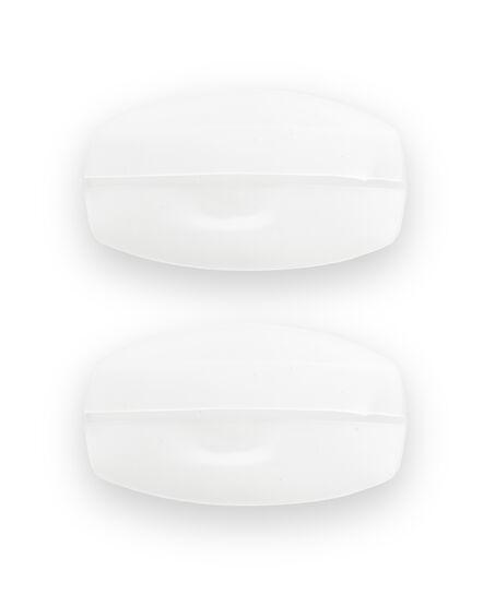 Komfortabel Silikone bh-Stropper, hvid