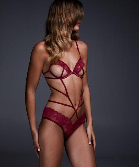 Lillibi body, rød