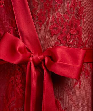 Lace Isabelle kimono, rød