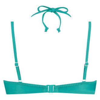 Aurora formstøbt bøjle-bikinitop, grøn