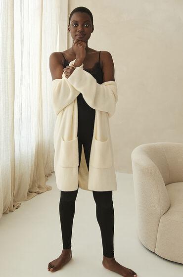 Hunkemöller Premium Cardigan lang Fluffy hvid