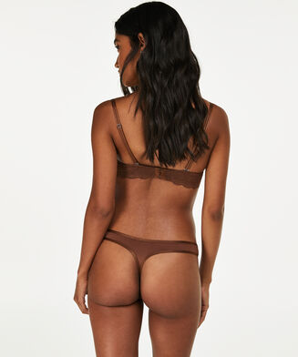 Angie Nude g-streng, Brown