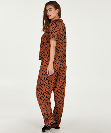 Pyjamasjakke, Brown