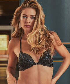 Formstøbt pushup-bøjle-bh Enchanted Doutzen, sort