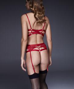 Jacky strømpeholder, rød