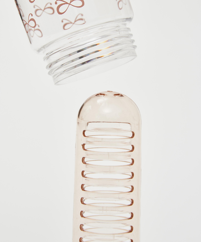 Patchwork drikkeflaske med infuser, pink, main