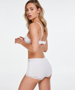Secret Lace shorts, hvid