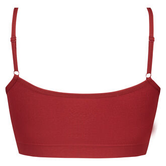 Seamless strappytop, rød