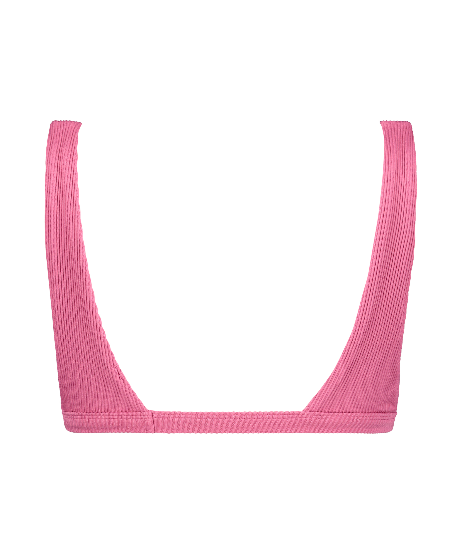 Bikini-croptop Vintage HKM x NA-KD, pink, main