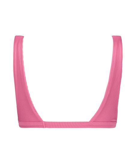 Bikini-croptop Vintage HKM x NA-KD, pink