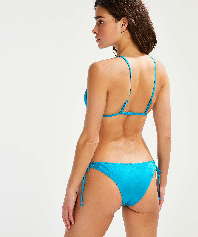Brasiliansk tanga bikinitrusse Celine, blå, main