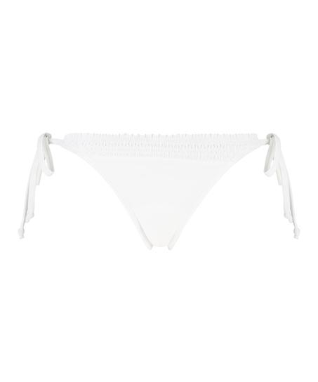 Fræk tanga-bikinitrusse Maldives, hvid